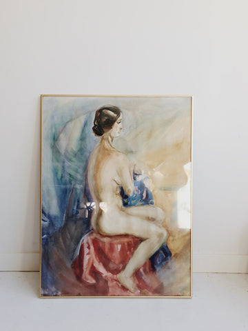 Portrait of Nude Woman
