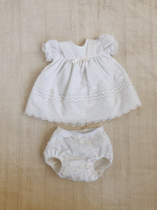 Dress and Bloomers - Size 0-3m