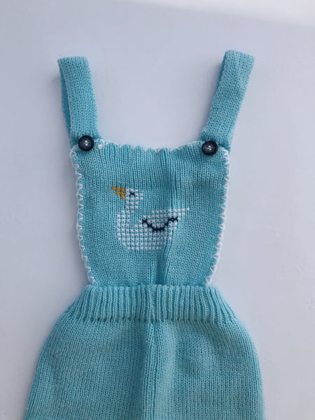 Knit Dungarees, size 12m