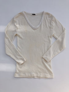 V-Neck Wool Thermal