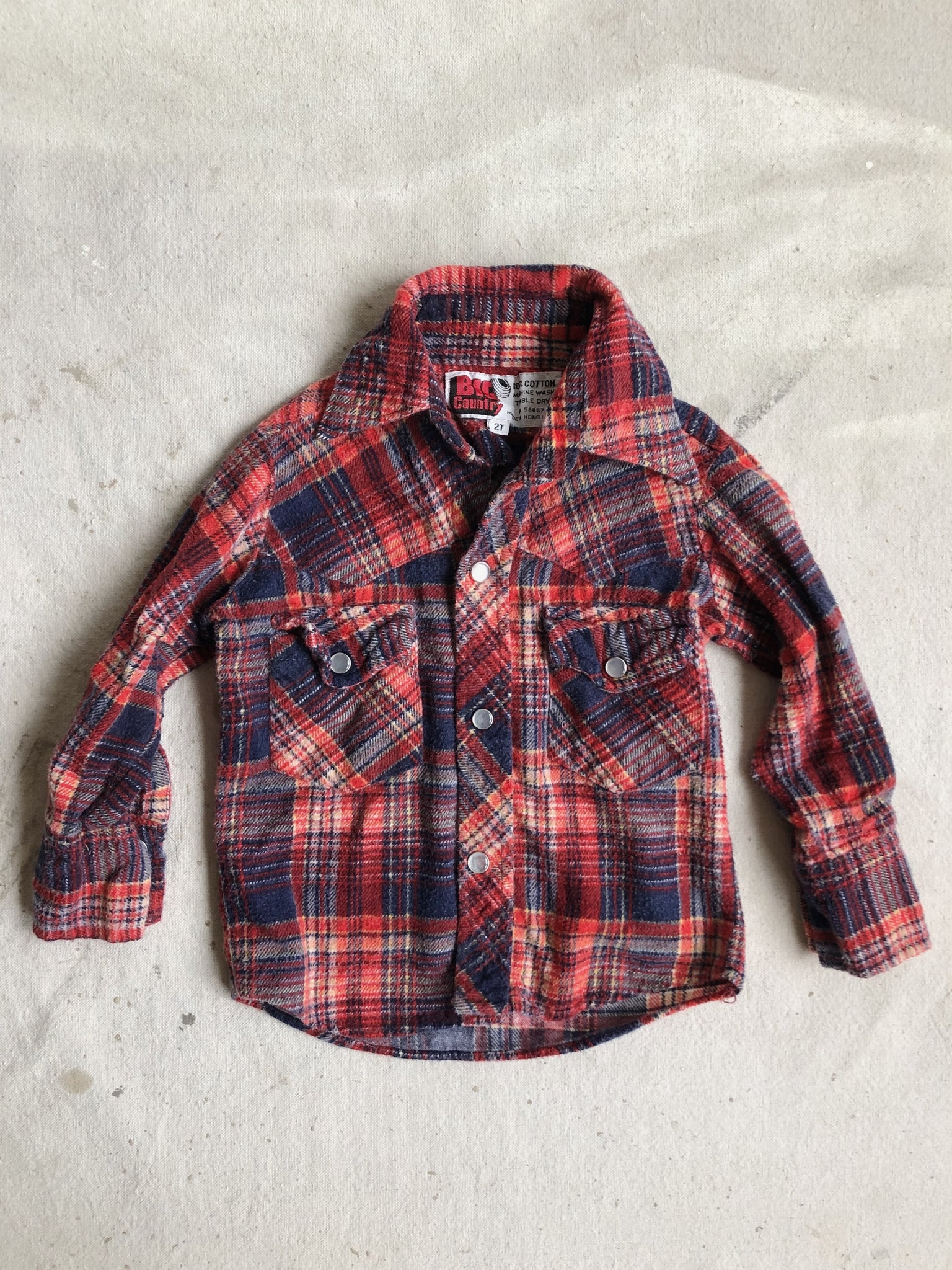 Big Country Flannel, 18m