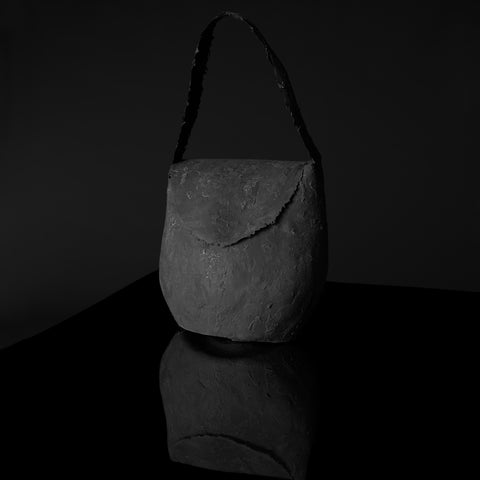 POT BAG CHARCOAL BLACK