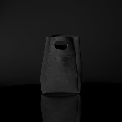 LUNCH BAG CHARCOAL BLACK