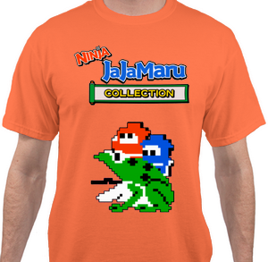 Game T-Shirt: Ninja JaJaMaru Collection - PREORDER