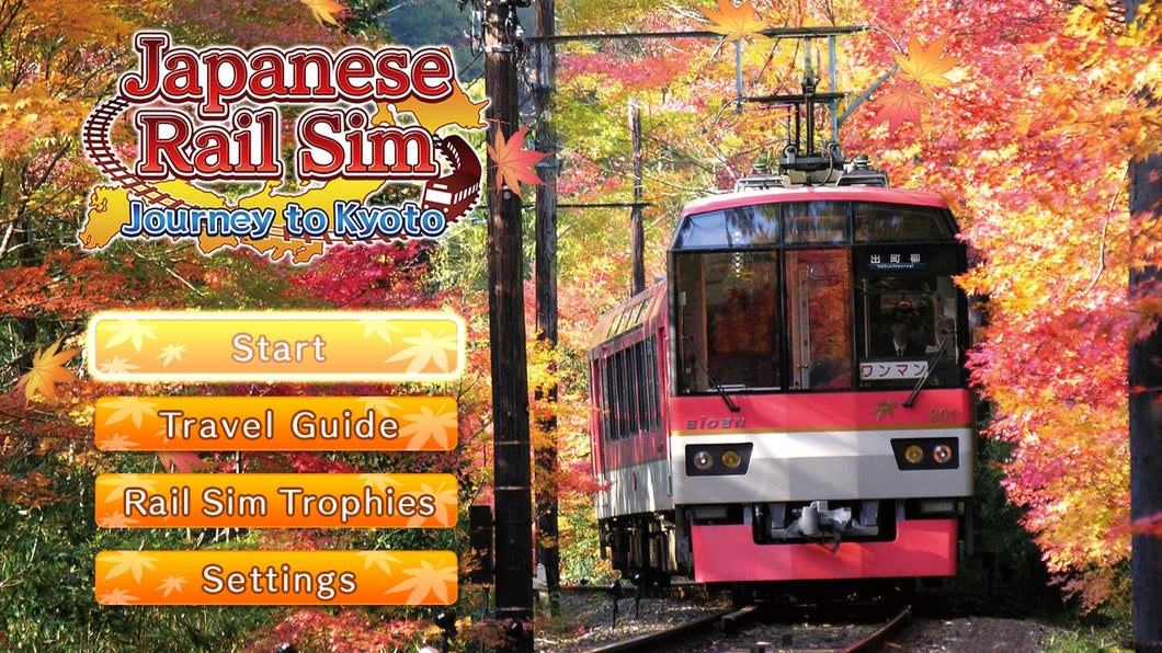 Japanese Rail Sim: Journey to Kyoto - Nintendo Switch - STANDARD PREORDER