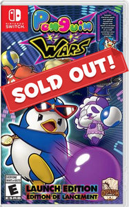 Penguin Wars (Nintendo Switch) - LAUNCH EDITION - EXCLUSIVE!