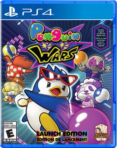 Penguin Wars (PlayStation 4) - LAUNCH EDITION - EXCLUSIVE!