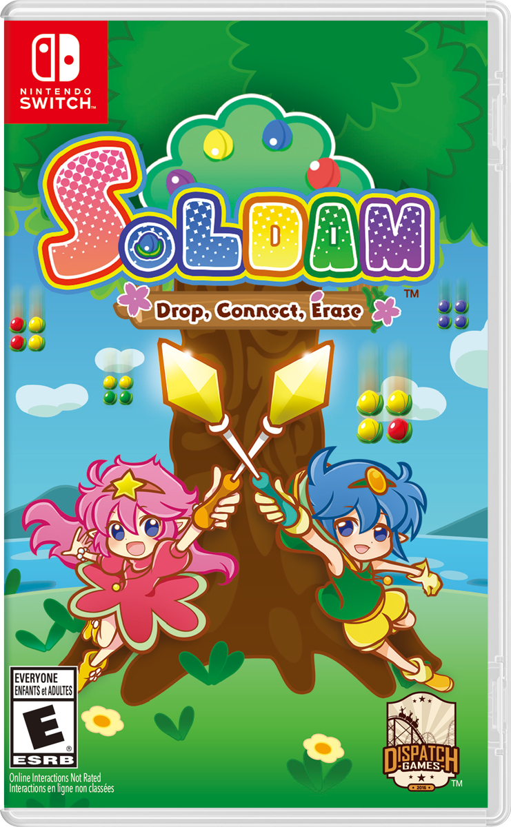 Soldam: Drop, Connect, Erase (Nintendo Switch)