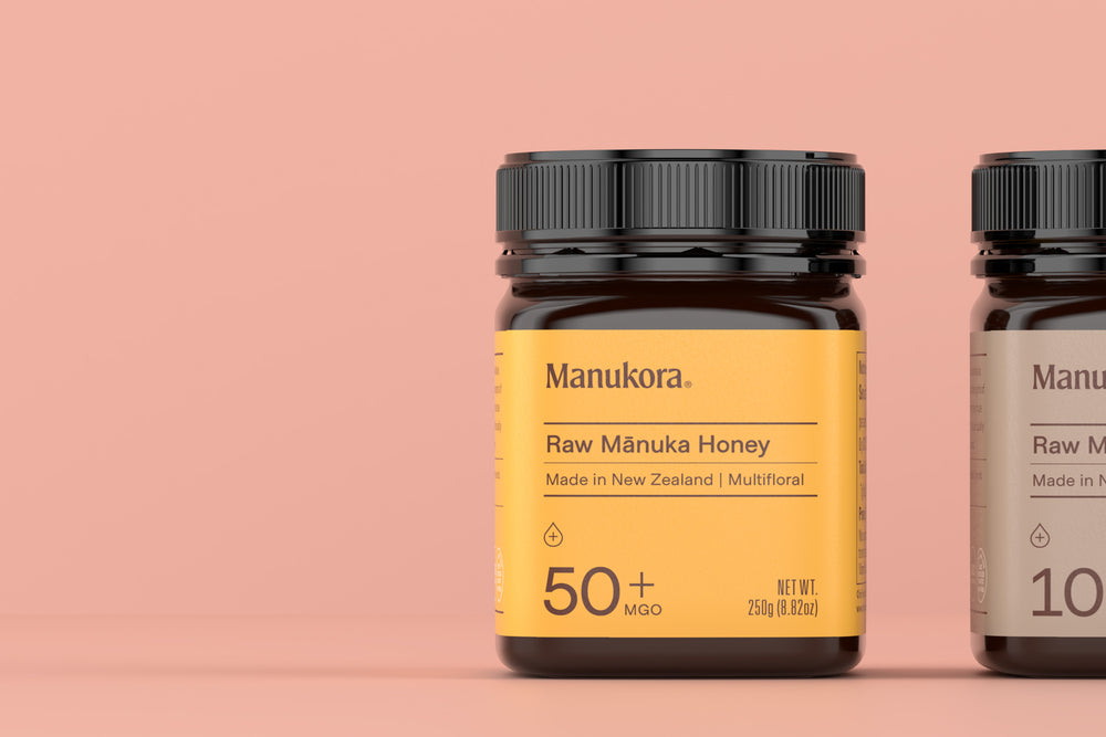 Premium, raw, Mānuka honey from the wilds of New Zealand.