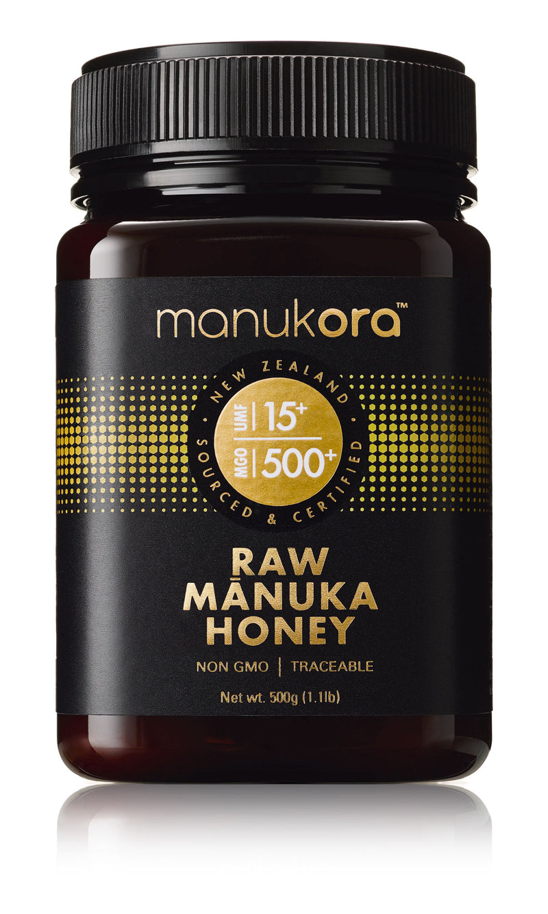Mānuka Honey UMF15+ (MGO500+) - Manukora 500g