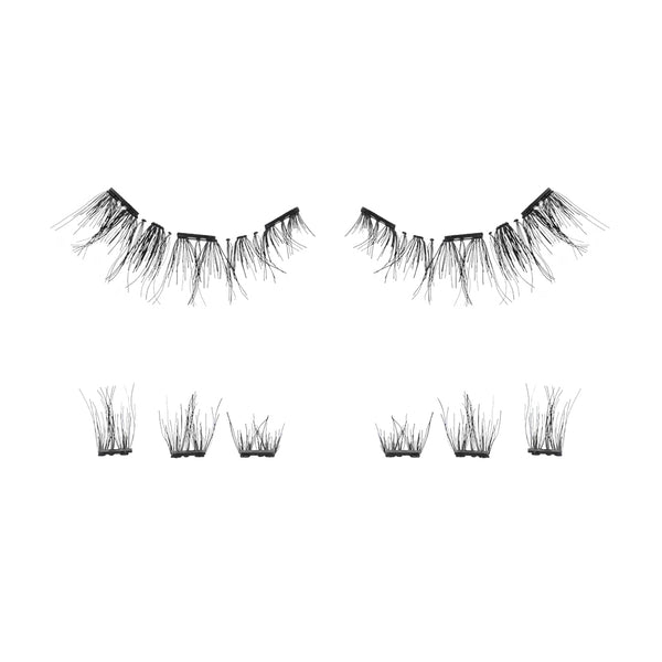 human hair lash'd up lashed lashd up lashes magnetic 2 3 magnets bottom strips pieces