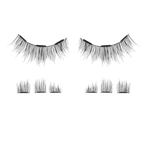 lash'd lashed lashd 2 magnets 3 dual strip one two lash clip on snap double sl