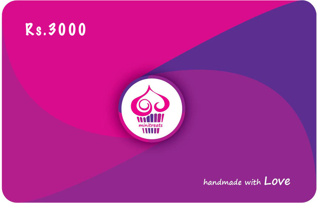 E-Gift Card Rs.3000