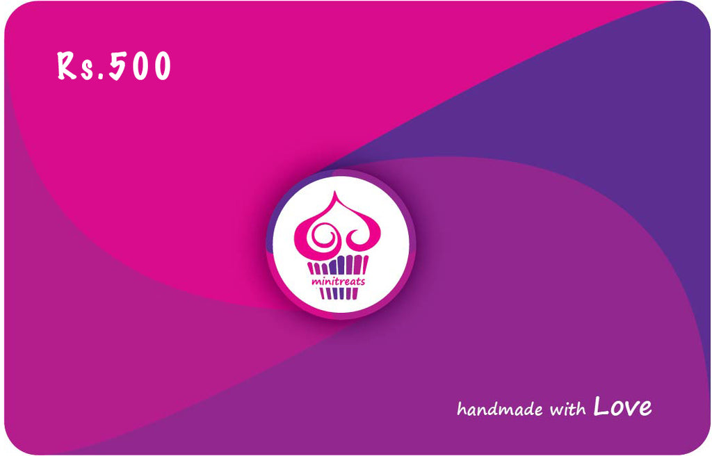 E-Gift Card Rs.500