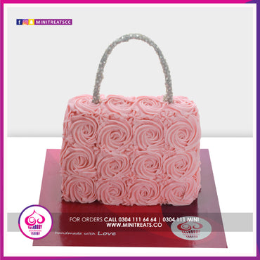 Buttercream Bag Cake