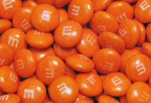 Orange Candy at CandyDirect.com