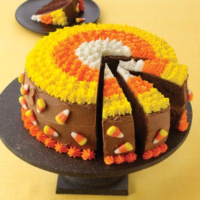 Cooking with candy corn on Thanksgiving desserts and cakes