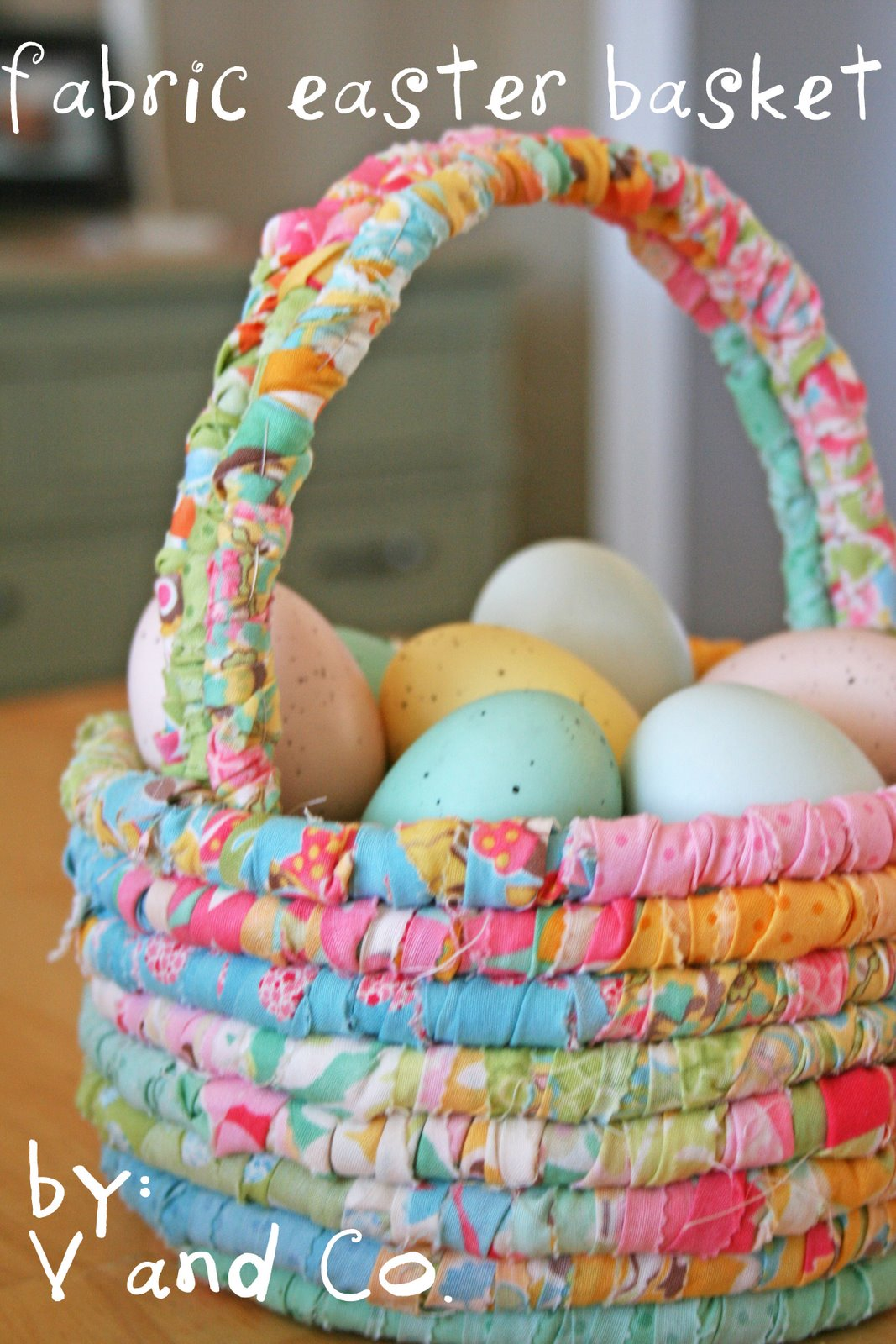 Coil Easter basket