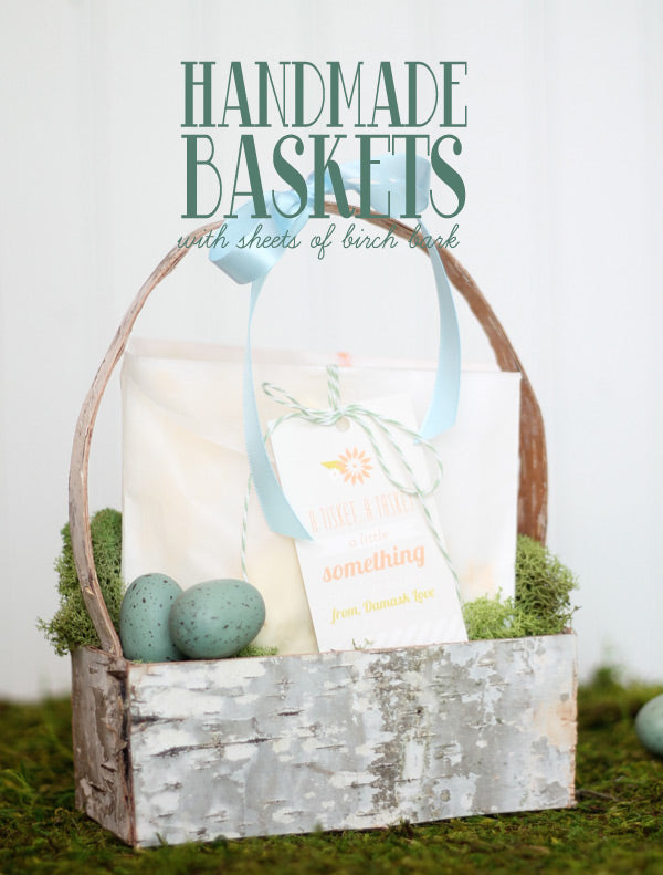 Birch Easter basket