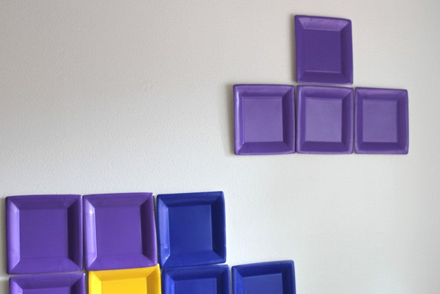 DIY Tetris Photo Backdrop