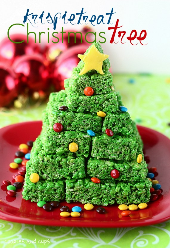 Rice Krispy Christmas Tree