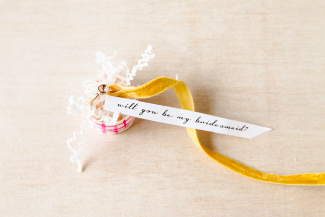 Creative Ways To Pop The Question To Your Bridesmaids-To-Be