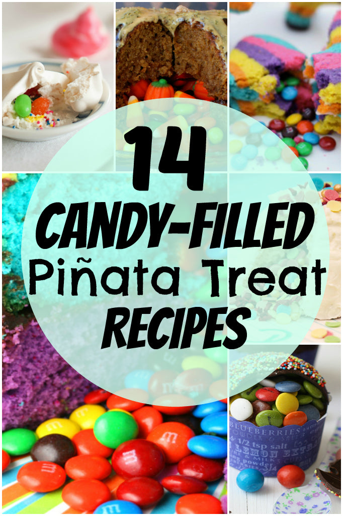 14 Candy-Filled Pinata Treat Recipes