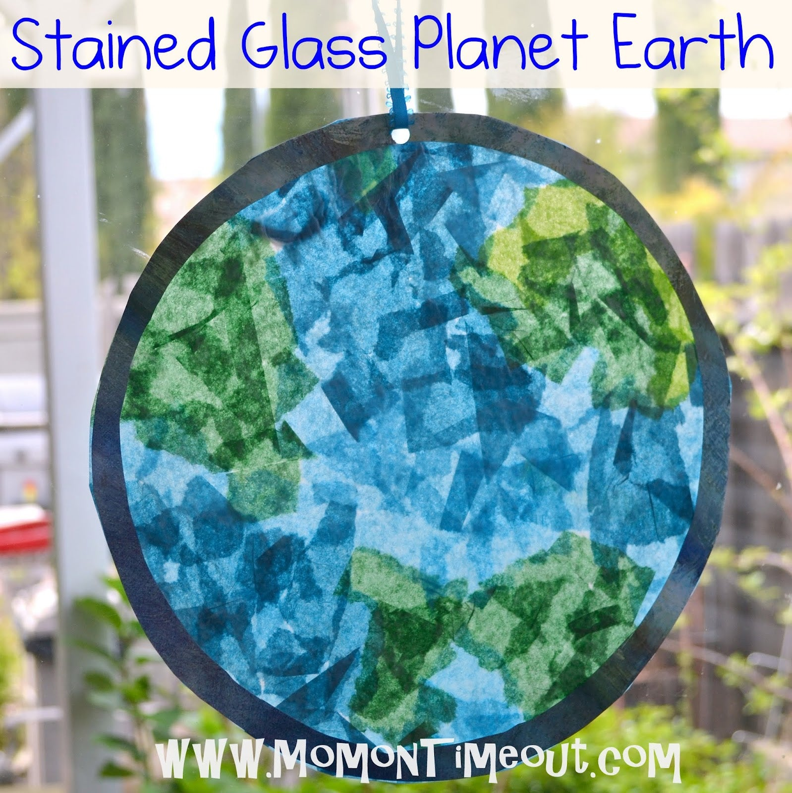 Stained Glass Earth