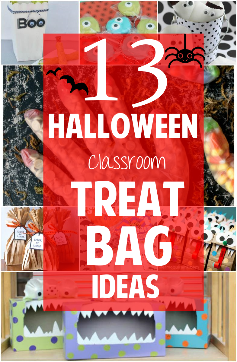 13 Spooky Diy Halloween Treat Bags Candydirect Com