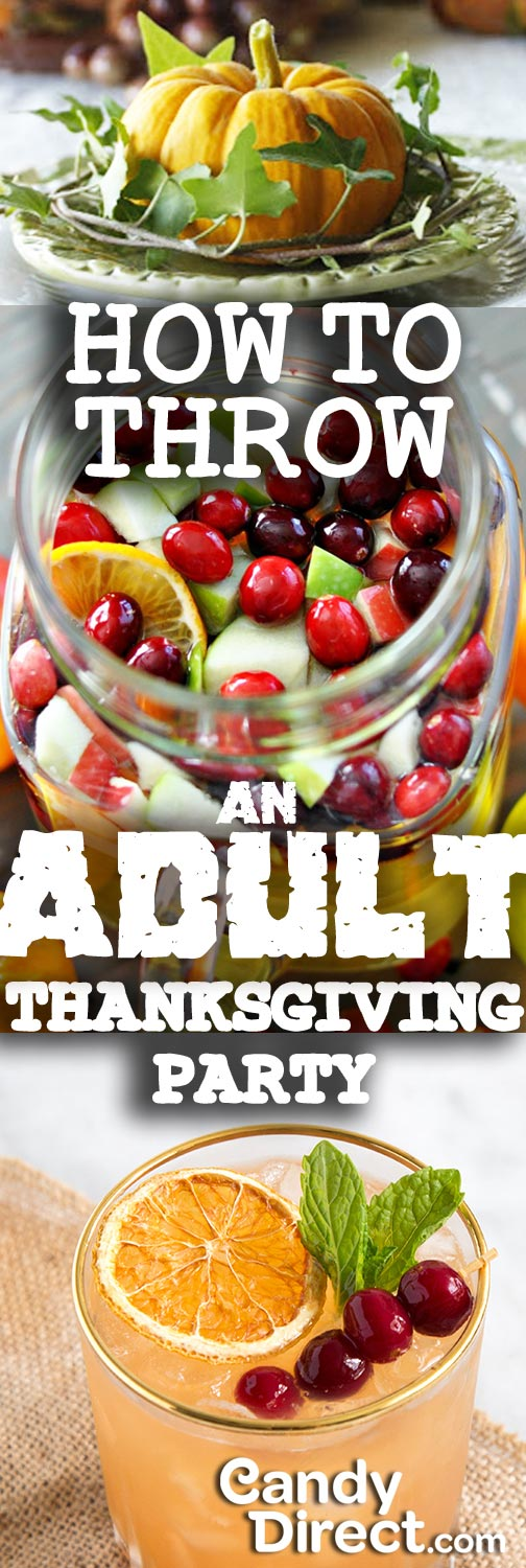 Adult Thanksgiving Party CandyDirect