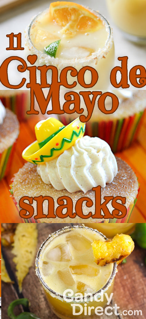 cinco de mayo snacks and drinks