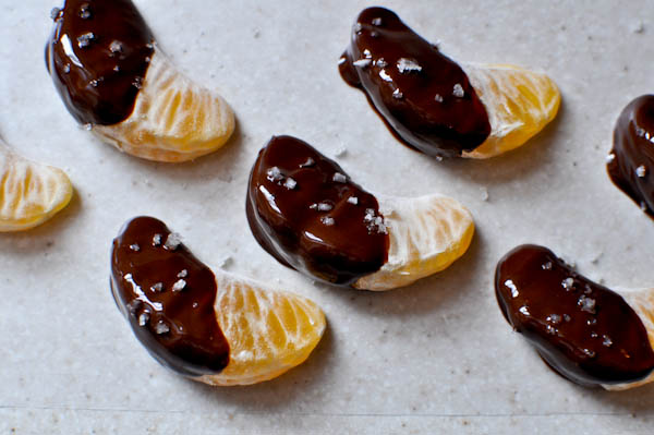 Chocolate Dipped Clemetines