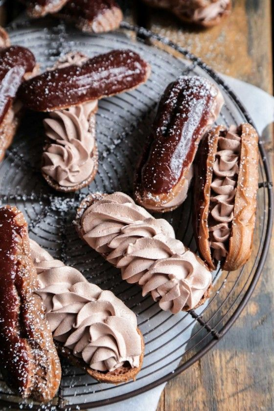 chocolate Eclair recipe for American Chocolate week