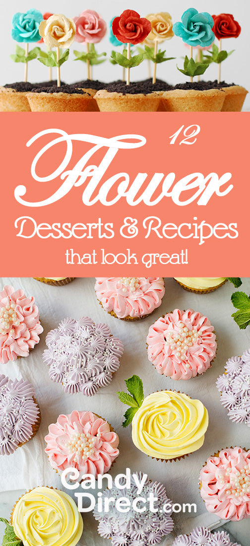 Flower Recipes and Desserts