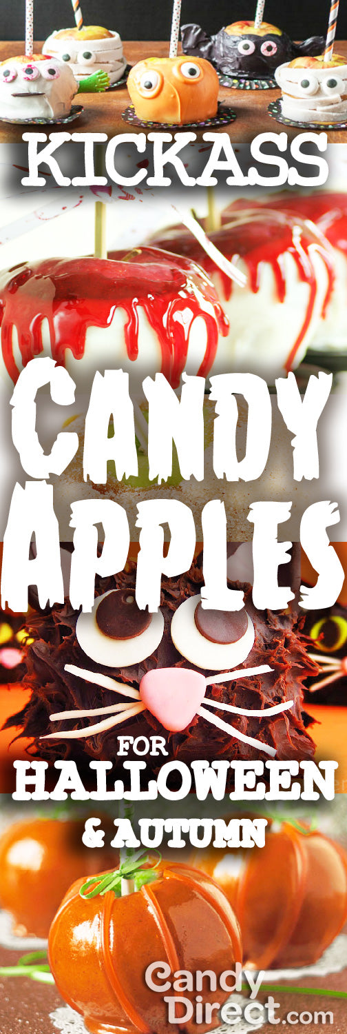 Kickass Candy Apples for Halloween and Autumn