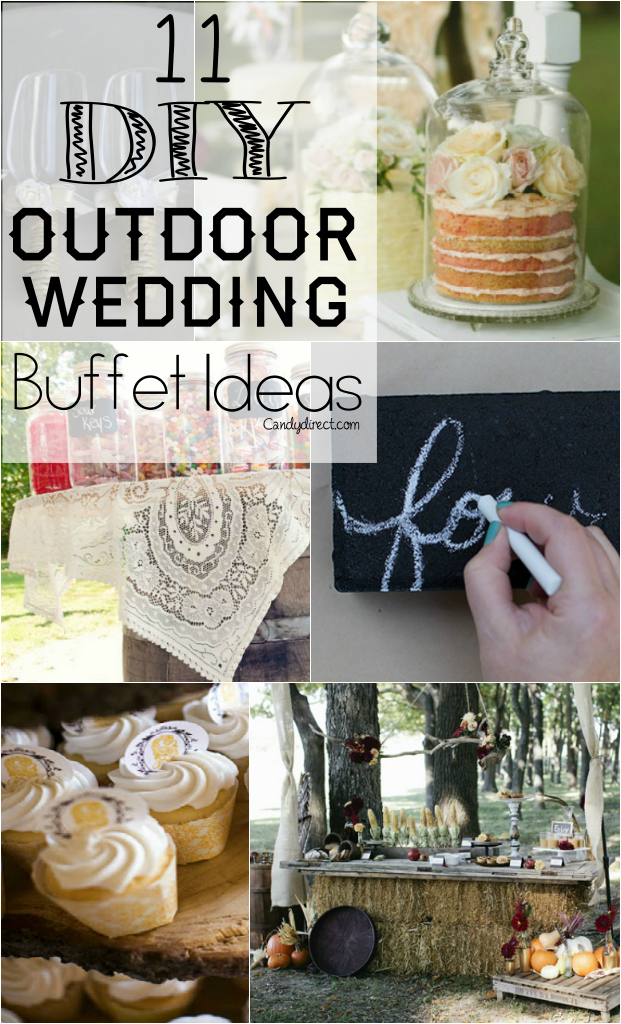 Rustic Outdoor Wedding DIY Ideas