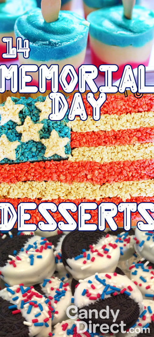 Memorial Day desserts red white and blue