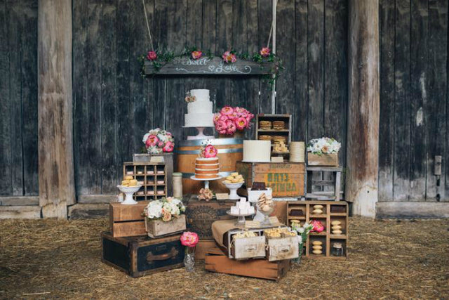 11 Diy Candy Ideas For Rustic Weddings Candydirect Com
