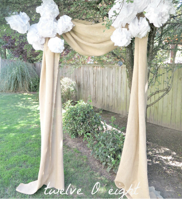 Rustic Wedding Backdrop Ideas
