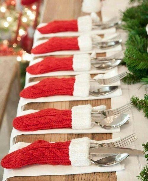 Stocking place settings