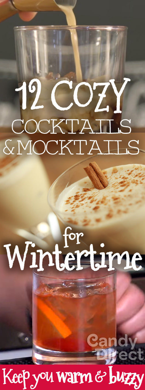 Winter mocktails & cocktails to keep you warm and buzzy