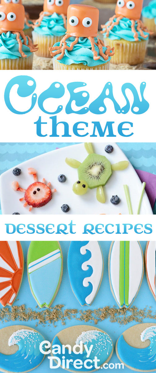 Ocean animal dessert recipes
