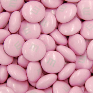 Pink M&M's - Milk Chocolate 10lb