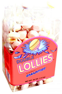 Double Lollies Smarties - Unwrapped 200ct Tub