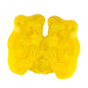 Yellow Gummy Bears - 5lb
