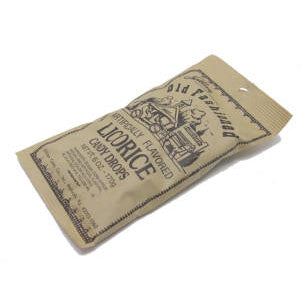 Old Fashion Drops - Licorice - 6 oz Bag 24 count
