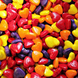 Crazy Hearts Hard Candy - 1900ct
