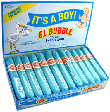 It's a Boy Bubble Gum Cigars - 36ct