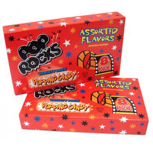 Assorted Pop Rocks - Movie-Size 18ct