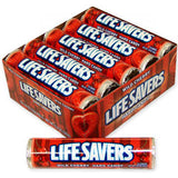 Lifesavers Rolls - Wild Cherry - 20 rolls